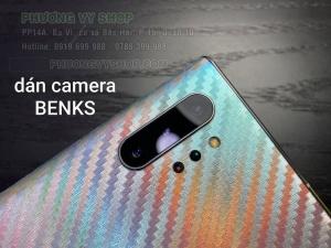 Dán cường lực camera hiệu Benks Note 10 Plus
